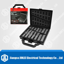 99pcs HSS drill bits set,hss drill set 99pcs in metal case