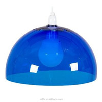 Waterproof round glass or plastic dome cover for clocks with Factory price