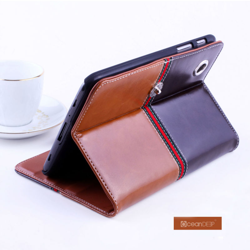 High quality leather case cover for samsung galaxy tab2 p3100 tablet android case