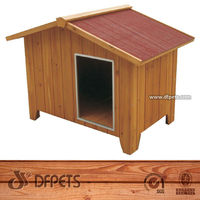 Pet Supplies Dogs Kennel House Wood For Sale DFD011