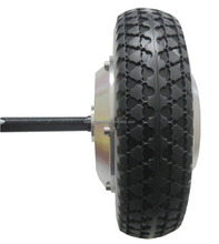 single shaft wheelchair wheel hub motor with solid tyre