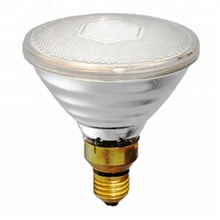 Chinese Manufacturer Par 38 E26/E27 150W Halogen Infrared Heat Lamp For Poultry Heating