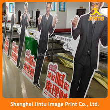 Free standing digital flex board advertising