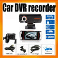 A1 Night vision G Sensor HD 1080P Car dvr Dual camera GPS Logger optional