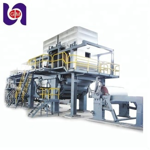 1092mm 5tpd HOT SELLING culture recycled fiber paper machine a4 copy 70gsm production line