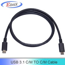 CM-Type C super speed usb cable provides 100w power supplier