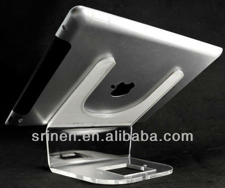 Acrylic tablet display stand for ipad