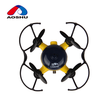4.2G 4 Channel well operability mini led lighting drone quadcopter with 0.3 MP Camera