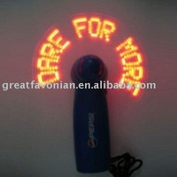 New 2014 Led Flash Promotional Fan