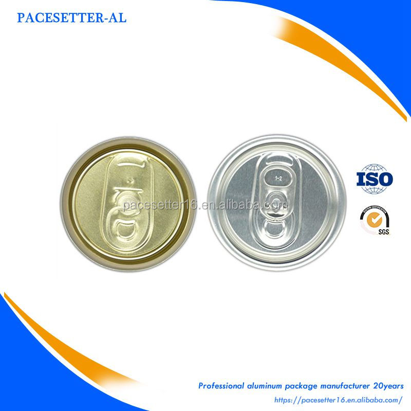 200SOT type aluminum can lid made in china