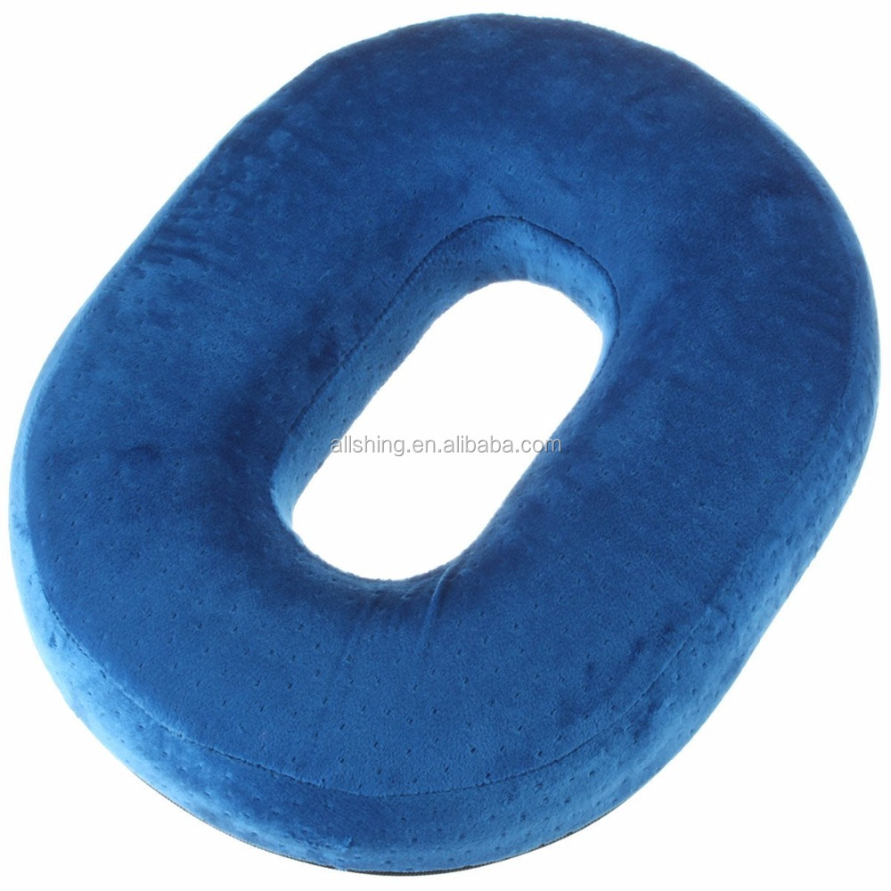 Wholesale Foam Donut Pillow Orthopedic Ring Cushion with Removable Cover