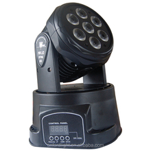 LED Wash Moving Head FL-M009 7x10W 4 IN 1 RGBW LED Mini Moving Head Wash Light