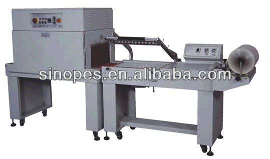 BTL-450+BM-500 Semi-auto L type shrink packaging machine