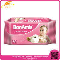 Wholesale baby skin care products organic baby wipes for cleaning