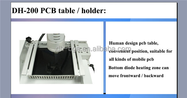 Dinghua reballing machine mobile bga rework station for Samsung iphone repairing DH-200