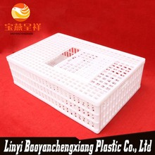 New polyethylene china white chicken transport crate