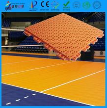 Non cracking non bulking non-slip indoor and outdoor portable volleyball court sports flooring direct buy in China