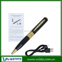Interview hidden pen camera digital video recorder for students learning