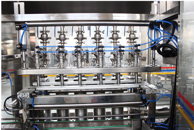 PET bottle olive oil filling machine / cooking oil bottling plant / vegetable oil making line