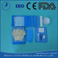disposable surgical items minor surgery instrument set
