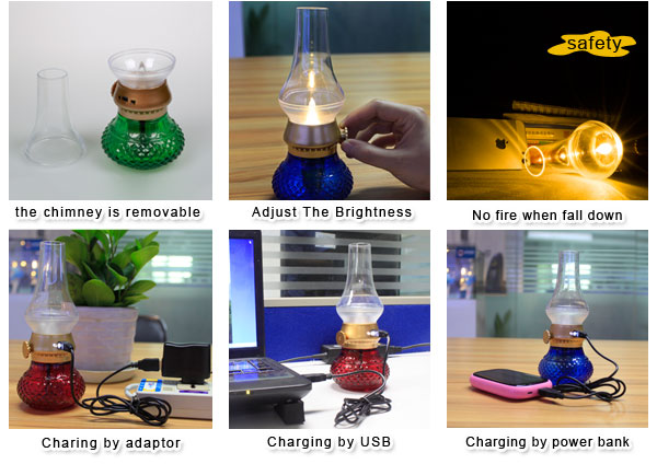 CE OEM China Customized Blowing Desk Lamp Light