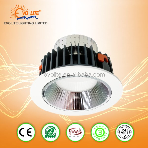 IP44 Ultra Slim 10W Recessed SMD Dimmable LED Downlight