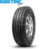 Highway-tread light truck tyre for tires 245/70R17