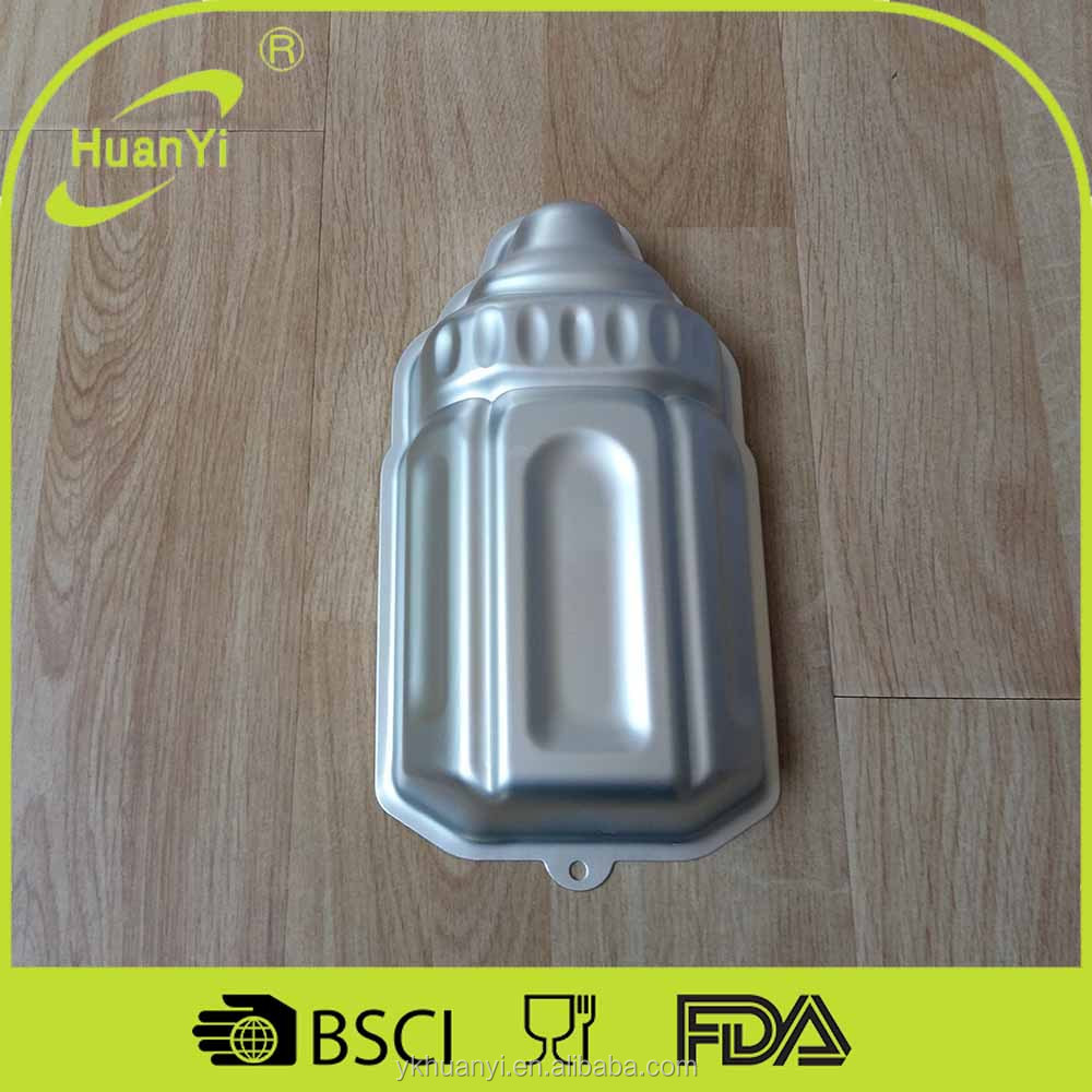 Aluminium alloy Baking cake pan Milk bottle shape (HY-4-5)