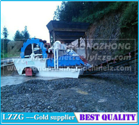 lzzg patent sand washing dewatering machine used in glass industry