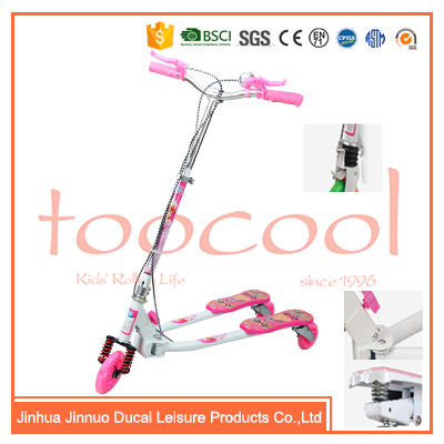 Latest model 3 wheel frog kids scooter / carbon steel foldable frog children scooter / frog scooter kick for toddlers TK07