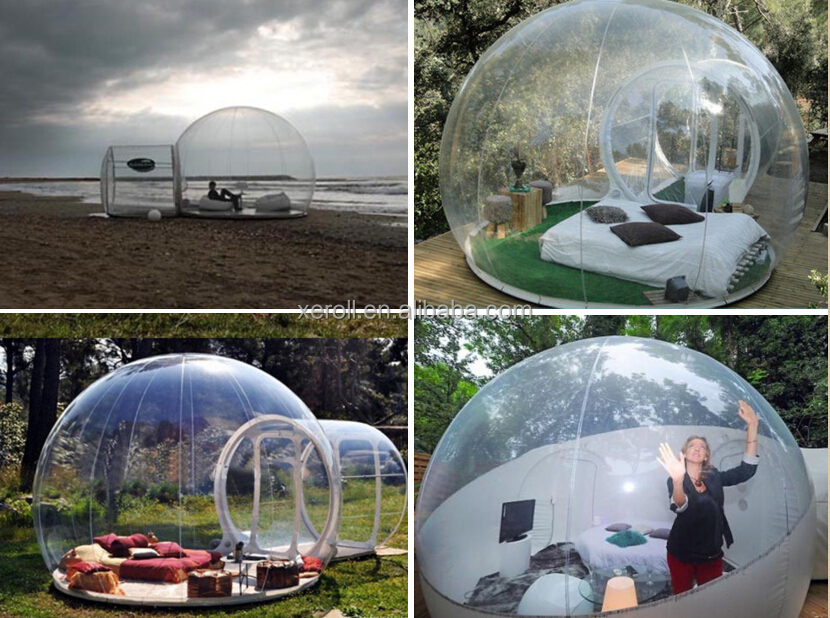 C&ing tent plastic tent inflatable clear bubble tent & Camping tent plastic tent inflatable clear bubble tent View ...