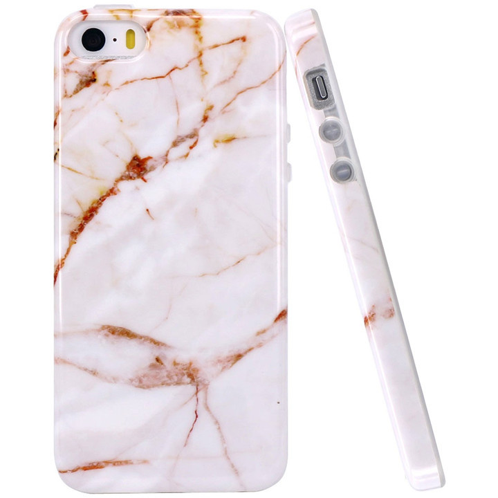 Premium Anti-Scratch Cover for iPhone 5 5S 5SE Marble Case