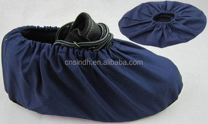 Superior Breathable Denim Fabric Shoe Cover For Medical Industries