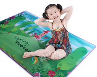 best baby gift, spring photo floor mat, beautiful flowers playmats for girls