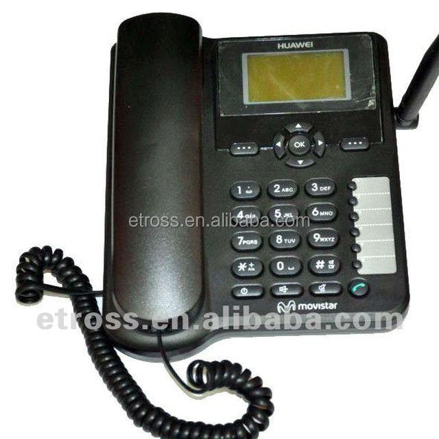 fixed wireless desktop phone/ FWP (HUAWEI ETS6630) Provide alarm clock, calendar, calculator, world clock