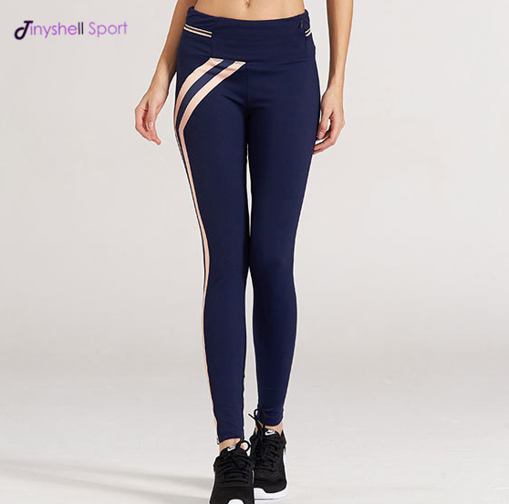 Lady professional sexy slim fit sublimation printed women yoga capri pants sport legging tights