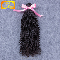 Kinky curly Virgin Russian 100% Human Hair Braiding Hair