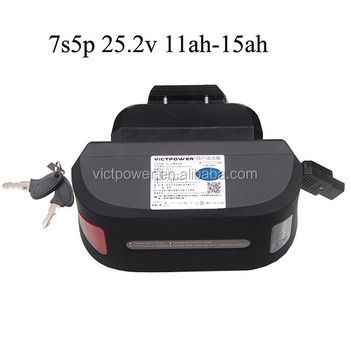 High discharge e-bike battery 36v 12ah Rechargeable Li-ion battery pack for electric bicycle