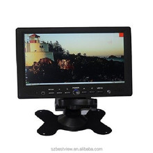 4wires resistive touch 7INCH TFT car monitor 1080P LED HD