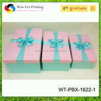 WT-PBX-1622-1 Small pure and fresh and Chinese style gift box