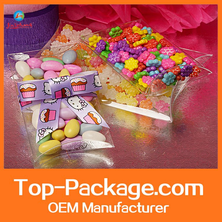 clear plastic hanger pillow boxes