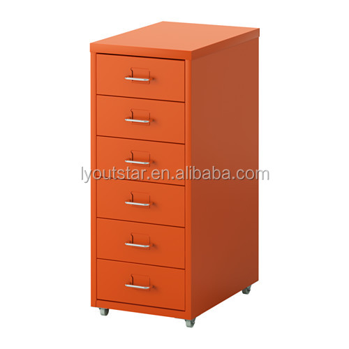 Noble purple a4 file cabinet 6 drawers vertical filing cabinet