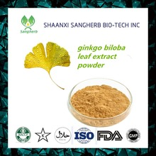 100% natural ginkgo biloba leaves extract powder with best price