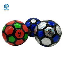 custom print globe 2016 world cup eva soccer ball