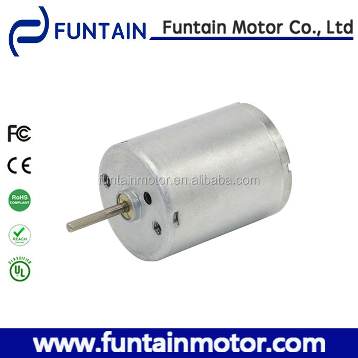 Carbon brush rc 370 dc motor , Funtain Motor