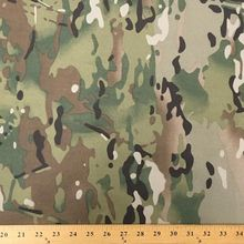 TC 65 polyester 35 cotton Multicam Polyester Cotton Fabric