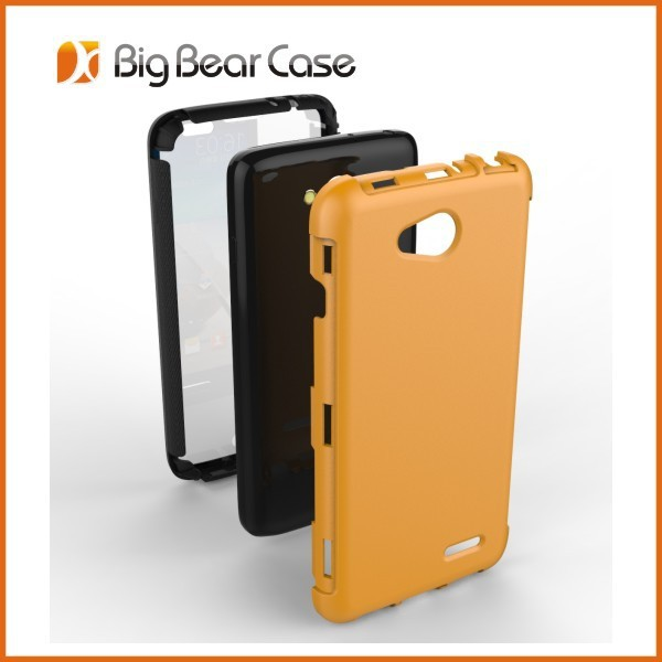 Full protection armor case for lg optimus l90
