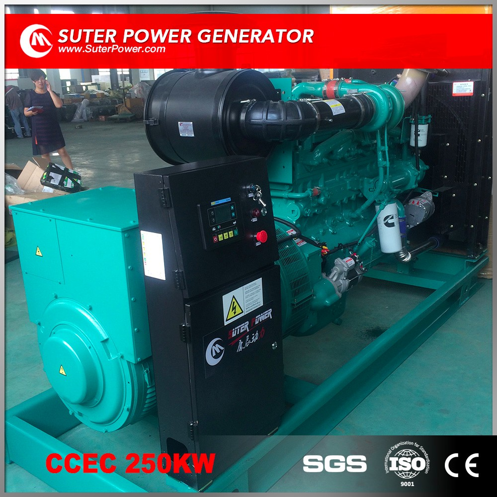 China suppliers 250kw electricity power diesel generators price