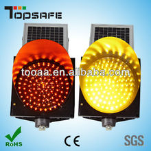 led solar beacon warning light factory