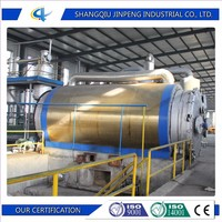 Best Waste Rubber Pyrolysis Oil Refinery Machine Plant to Diesel Grade Oil with CE